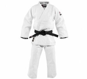 New Fuji Sports Mens Kids Womens Double Weave Judo Gi Kimono  - White
