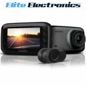 "Uniden iGO CAM 50R 1080P Full HD 2.7"" 2-Channel GPS Dash Camera"
