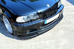 Spoilerlippe Schwert Frontspoiler Lippe passend für BMW E46 mit M Paket 2 & ABE