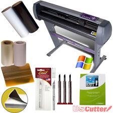 """USCutter 28"""" Vinyl Cutter Plotter KIT + Design/Cut Software - Make Decals Signs"""