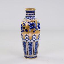 More details for losol ware keeling & co, blue flow baluster vase