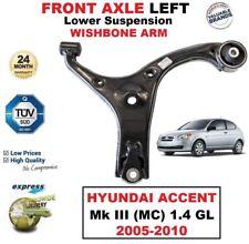 1x Vorderachse Links Unteren Querlenker für Hyundai Accent Mk III 1.4 Gl