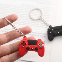 Mens Video Game Handle Keychain Joystick Machine Keyring Key Holder Trinket Gift