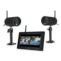 "ALC AWS3377 Full HD 1080p Surveillance System with 7"" Touch Screen Monitor and 2"
