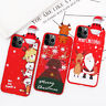 Christmas Bear Pattern Soft TPU Case Cover For iPhone 11 Pro XS Max XR X 8 7 6s