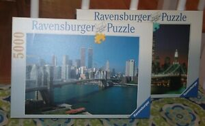 New Ravensburger New York 5000 Twin Towers World Trade Center & Bonus