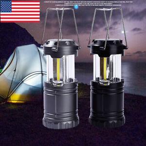 80000LM LED Lantern COB Flashlight Portable Torch Outdoor Camping Lamp Hand Lamp