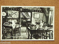R&L Postcard: Interior Real Photo of Barton's Restaurant, Stamford