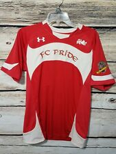 Under Armour Heat Gear FC Pride Indiana Mens Large Short Sleeve Jersey T Shirt