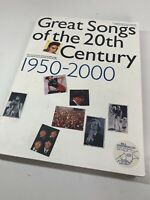 Great Songs Of The 20th Century 1950-2000 Piano Music Voice Guitar 78 Songs Book