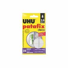 UHU patafix deco kräftige wieder ablösbare wieder verwendbare Klebepads 32 Stück