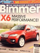 Bimmer Magazine 328i Coupe & Technic 335i August 2008 031318nonrh