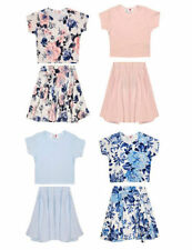Floral Cropped T-Shirts & Tops (2-16 Years) for Girls