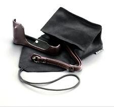 GENUINE Fujifilm Fuji Leather Case Pouch Strap for X-70 X70 BLC-X70 Camera