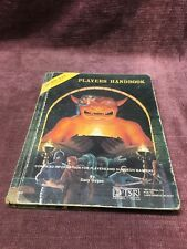 Advanced Dungeons and Dragons Players Handbook by Gary Gugax 1980 6th Prtg TSR