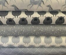 MODA - FARM CHARM - 100% COTTON FABRIC - SOLD BY 1/2 METER OR FQ BUNDLE