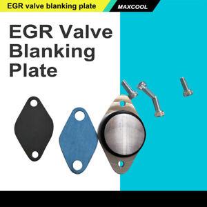 Fits VOLVO C30 S40 S80 V50 V70 EGR blanking plate kit 2.0 16V 136 EGR pipe