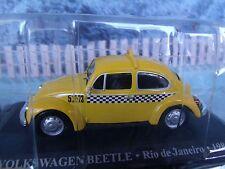 1/43 Magazine Series Altaya Volkswagen  beetle Taxi Rio de Janeiro 1985