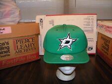 new product f944e 73413 Dallas Stars Mitchell   Ness Vintage GREEN Snapback Hat Cap NHL NWT