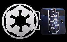 Star Wars Belt Buckle USA American Imperial Logo Rock Rebel White Metal Mens New