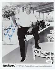 Sam Snead signed Wilson Sporting Goods golf photo Jsa authenticated