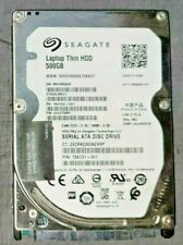 """Lot of 10) - Seagate Laptop Thin HDD ST500LM021 500GB 2.5"""" SATA III Laptop HDD"""