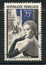 STAMP / TIMBRE FRANCE OBLITERE N° 1020 LA GANTERIE