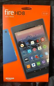 Amazon Fire HD 8 32GB, Wi-Fi, 8 inch - Marine Blue - NEW