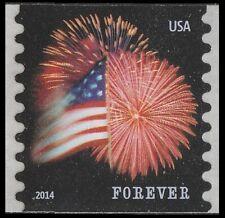 US 4853 Star-Spangled Banner forever coil single CCL (1 stamp) MNH 2014