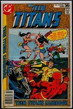DC Comics The TEEN TITANS #53 Last Issue Origin VFN 8.0