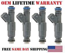 0280155887 OEM Bosch >2000-2004 Ford Focus 2L-2.3L I4< x4 Rebuilt fuel injectors