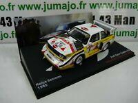 RMC10M voiture 1/43 IXO Altaya Rallye  AUDI quattro sport E2 San Remo 1985 RÖHRL