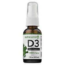 Nutrasumma Vitamin D3  Spray -1oz  1000 IU