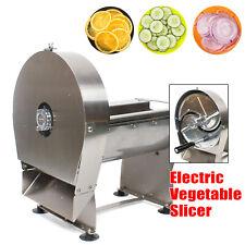 Electric Stainless Steel Slicer Potato Fruit Apple Peeler Slicer Machine 0-10mm
