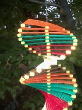 """""""New"""" EARTHTONES Wind Spinner, Hanging Yard/Garden Decoration FALL colors"""
