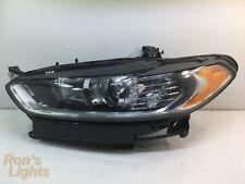 2013 - 2016 Ford Fusion Halogen Headlight OEM LH (Driver) - NO BROKEN TABS