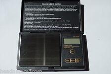 Feinwaage CS-500 Digitalwaage 500g / 0,1g Goldwaage Taschenwaage pocketscale 0,1