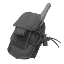 CONDOR TACTICAL GUARD HHR RADIO POUCH HOLSTER MOLLE SYSTEM AIRSOFT WEBBING BLACK