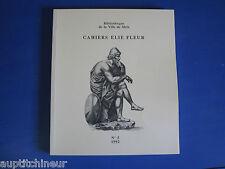 Bibliothèque ville de Metz cahiers Elie Fleur sommaire en photo n° 5 1992