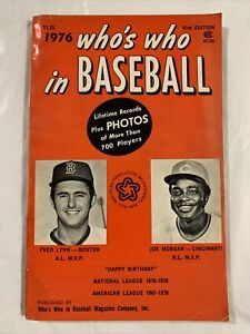 Who's Who In Baseball 1976
