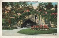 Postcard Franciscan Monastery Washington DC