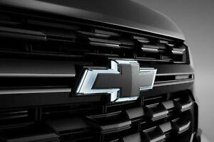 2021 2022 21 22 Chevrolet Chevy Colorado Bowtie Illuminated Black Emblem