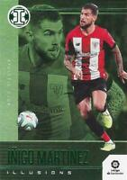 2019-20 Panini Chronicles Contenders Soccer Illusions Set Green Parallel
