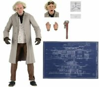NECA Doc Brown 7 inch Action Figure - H856040 - Back to the Future Anniversary
