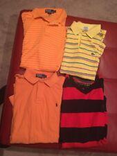 Polo Ralph Lauren Lacoste American Eagle Men's Lot 4 Shirts Large AA54