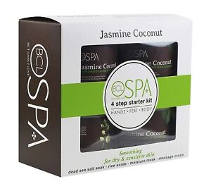 BCL Spa 4 steps Pedicure Jasmine Coconut Starter Kit