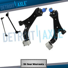2002-2007 Saturn Vue 4pc Front Lower Control Arm Ball Joint Sway Bar Link Kit