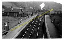 Stow Railway Station Photo. Bowland - Fountainhall. Galashiels to Edinburgh. (1)