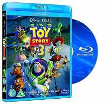 Toy Story 3 [Blu-ray Children Movie, Disney Pixar, Region Free, 2-Disc] NEW