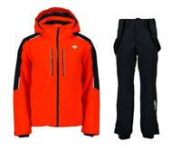 DESCENTE CHALLENGER Ski Jacket + ROSCOE Ski Salopette Completo Uomo Sci DWMOGK62